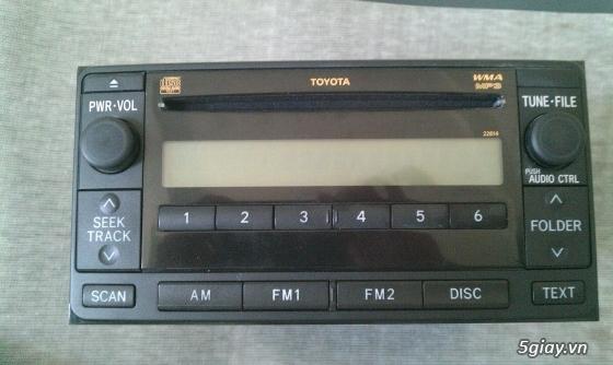 Đầu CD + MP3 Santafe và Đầu CD+Mp3 Toyota Sienna ( Hàng Zin theo xe) - 6