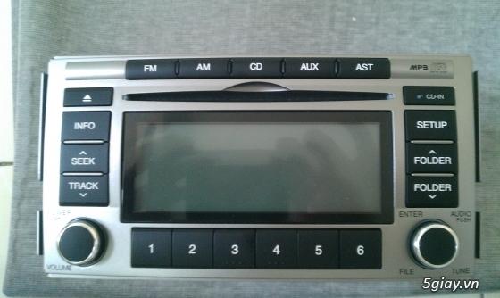 Đầu CD + MP3 Santafe và Đầu CD+Mp3 Toyota Sienna ( Hàng Zin theo xe) - 4