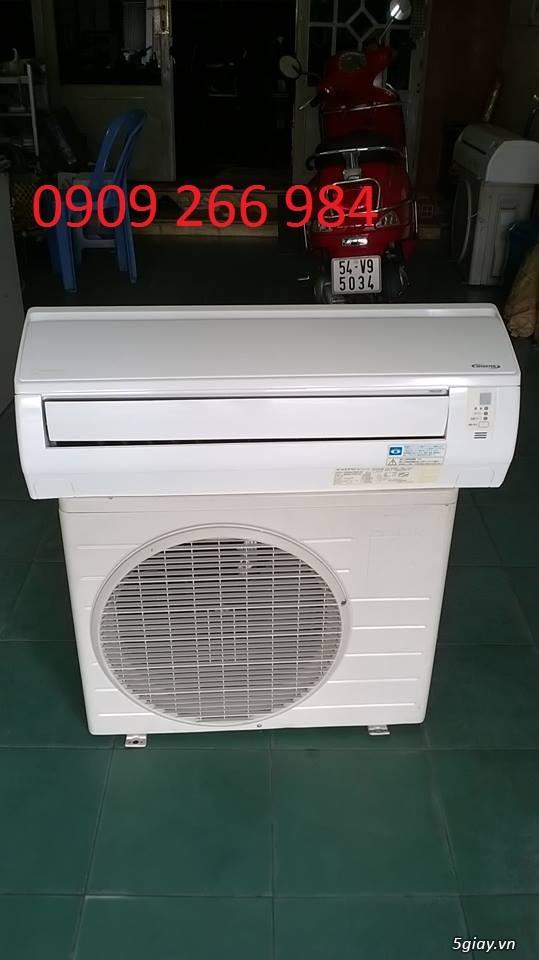 ĐL Tân Tiến :Máy lạnh nội địa Nhật mới 95% bảo hành 15 Tháng ,1 đổi 1 trong 15 tháng giá tốt tại 5s - 9