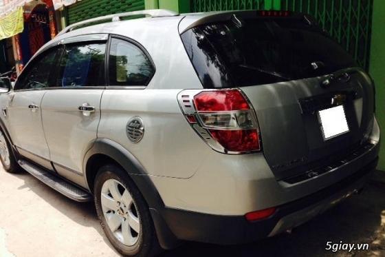 gđ cần bán gấp Chevrolet Captiva LT sản xuất đăng ký năm 2008,màu bạc - 2
