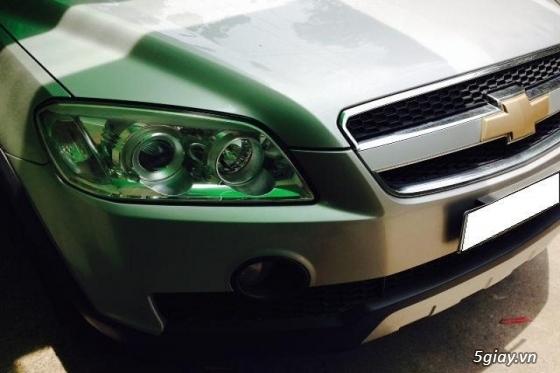 gđ cần bán gấp Chevrolet Captiva LT sản xuất đăng ký năm 2008,màu bạc