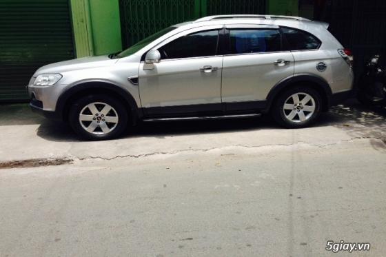 gđ cần bán gấp Chevrolet Captiva LT sản xuất đăng ký năm 2008,màu bạc - 3