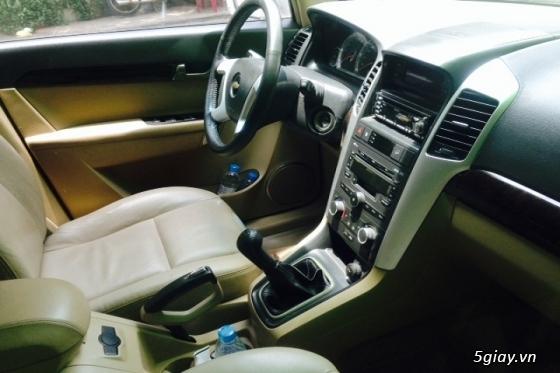 gđ cần bán gấp Chevrolet Captiva LT sản xuất đăng ký năm 2008,màu bạc - 4