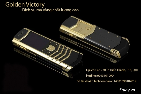 Xi mạ điện thoại chất lượng cao