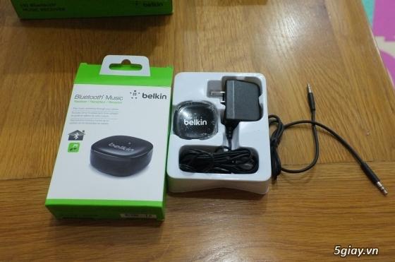 Nghe nhạc bluetooth Belkin chính hãng- Belkin Bluetooth Music Receiver - 1