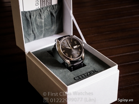 Đồng hồ Citizen Automatic - Made in JAPAN - NP4020-01E - NEW 100% full box - 2