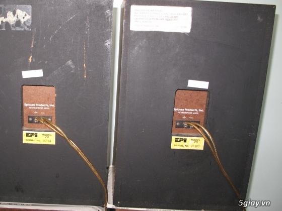Bán cặp loa EPI 70 của Mỹ, Ampli Scott 60B, CD Sony 333 ESD, CD Pioneer PDHL5 rất đẹp - 2