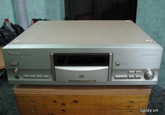 Bán cặp loa EPI 70 của Mỹ, Ampli Scott 60B, CD Sony 333 ESD, CD Pioneer PDHL5 rất đẹp - 5