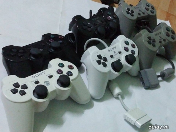 Tay game PS2, PS3, máy PSP hàng nội địa Nhật. Phụ kiện game các loại.Update liên tục!