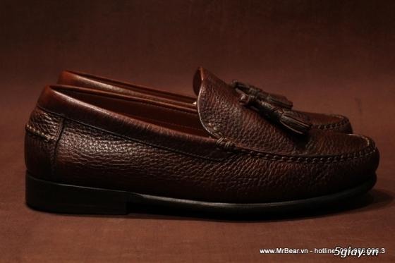 Giày loafer hàng hiệu chính hãng : bally , zara , cole haan , guuuu , prada , D&G ... - 1