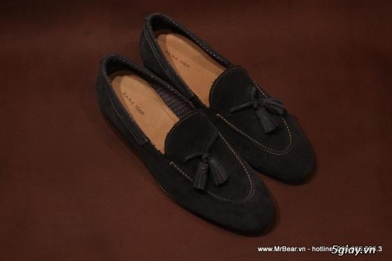 Giày loafer hàng hiệu chính hãng : bally , zara , cole haan , guuuu , prada , D&G ... - 3