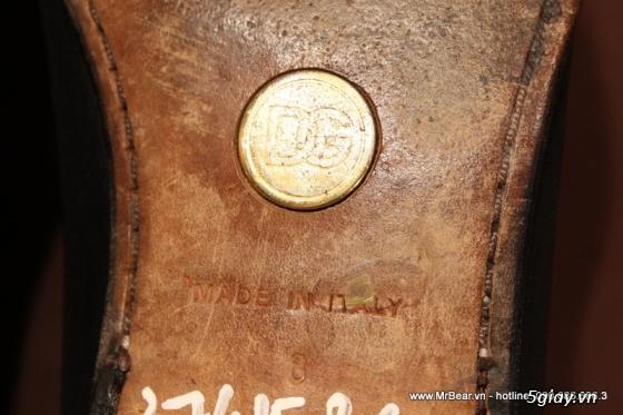 Giày loafer hàng hiệu chính hãng : bally , zara , cole haan , guuuu , prada , D&G ... - 35