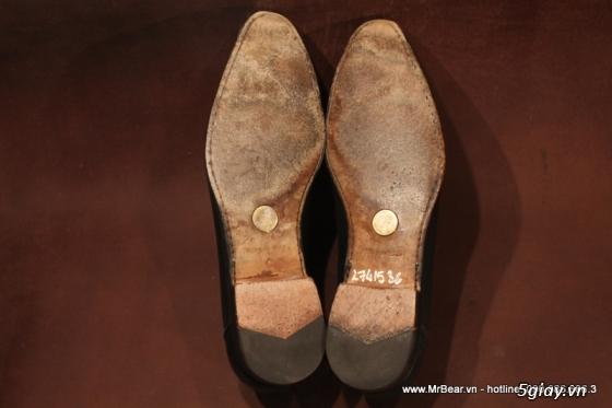 Giày loafer hàng hiệu chính hãng : bally , zara , cole haan , guuuu , prada , D&G ... - 34