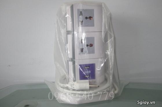 Ổ cắm điện 2-3 tầng từ 8-12 lỗ + 2 USB 1A đa năng tiện dụng giá tốt - 2