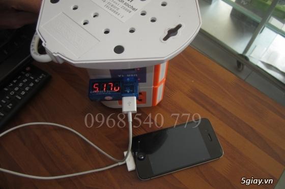 Ổ cắm điện 2-3 tầng từ 8-12 lỗ + 2 USB 1A đa năng tiện dụng giá tốt - 11