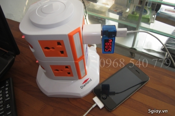 Ổ cắm điện 2-3 tầng từ 8-12 lỗ + 2 USB 1A đa năng tiện dụng giá tốt - 12