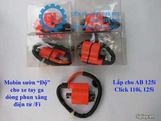 Phụ Tùng độ dàn lửa xe gắn máy: Mobin sườn, dây tăng áp, IC độ - mở giới hạn vòng tua - 9