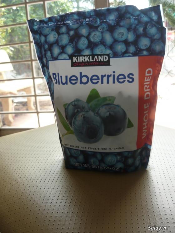Trái Cherry khô, trái Blueberry khô hàng nhập từ Mỹ - 4