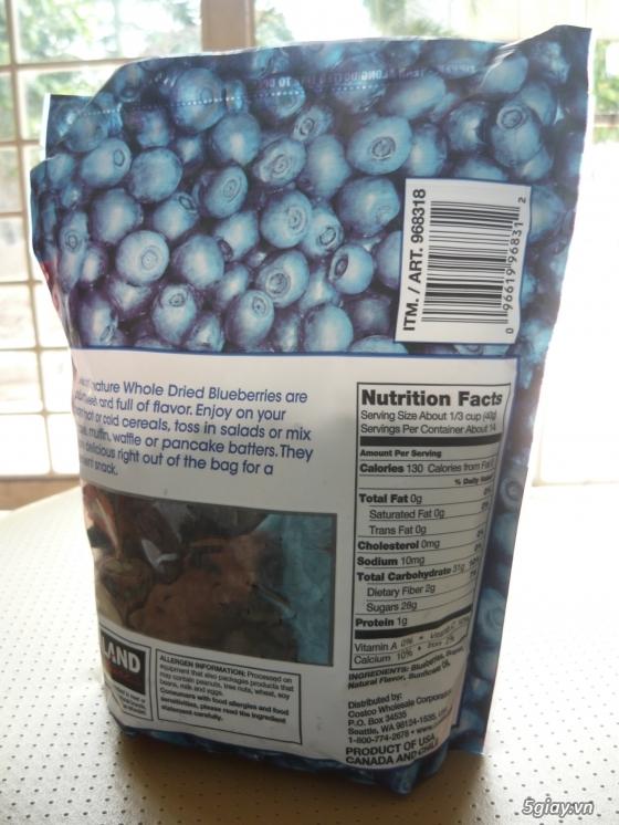 Trái Cherry khô, trái Blueberry khô hàng nhập từ Mỹ - 5