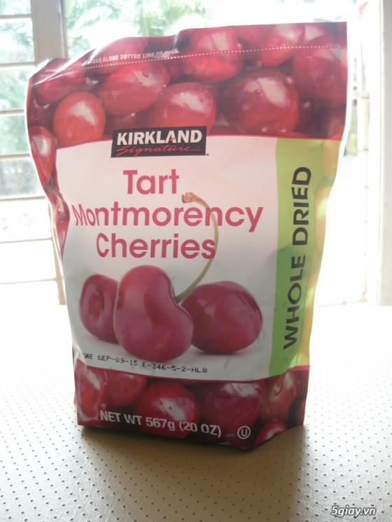 Trái Cherry khô, trái Blueberry khô hàng nhập từ Mỹ - 1