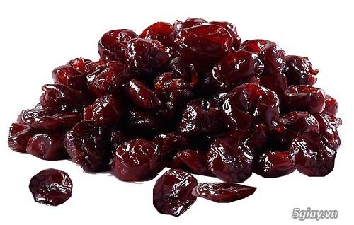 Trái Cherry khô, trái Blueberry khô hàng nhập từ Mỹ