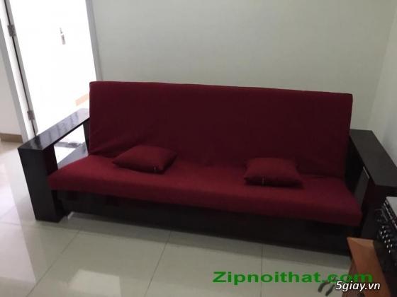 Giường Futon   ZIP nội thất   Giường Gấp SOFA   100% Gỗ Sồi giá rẻ