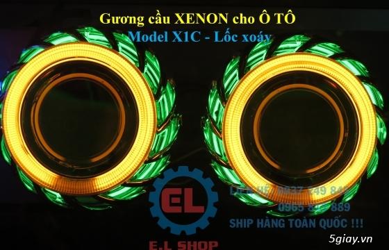 E.L SHOP - Đèn Led siêu sáng xe ô tô: XHP70, XHP50, Philips Lumiled, gương cầu xenon... - 40