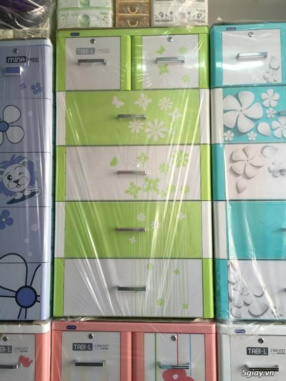 Tủ nhựa DUY TÂN - Tủ nhựa Treo - Giường sắt - Nôi tự động - LH: 0909.45.1020 Lâm - 5