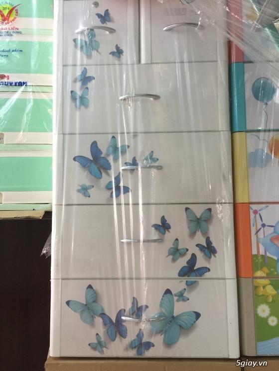 Tủ nhựa DUY TÂN - Tủ nhựa Treo - Giường sắt - Nôi tự động - LH: 0909.45.1020 Lâm - 13