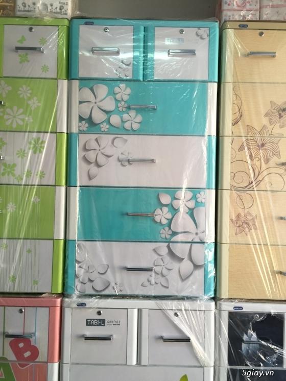 Tủ nhựa DUY TÂN - Tủ nhựa Treo - Giường sắt - Nôi tự động - LH: 0909.45.1020 Lâm - 6