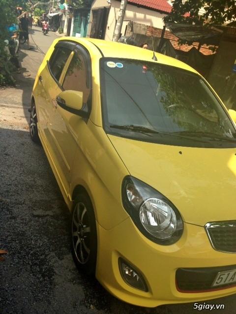 cần bán gấp xe kia morning 2011 màu vàng.xe đẹp như mới