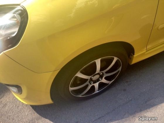 cần bán gấp xe kia morning 2011 màu vàng.xe đẹp như mới - 11