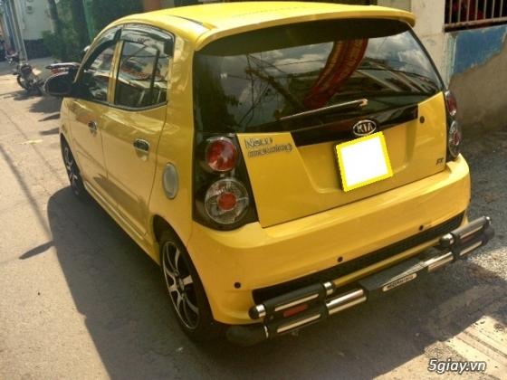cần bán gấp xe kia morning 2011 màu vàng.xe đẹp như mới - 8