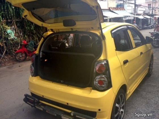 cần bán gấp xe kia morning 2011 màu vàng.xe đẹp như mới - 3