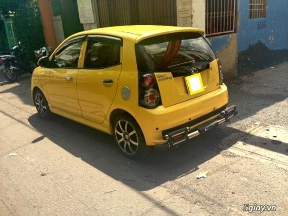cần bán gấp xe kia morning 2011 màu vàng.xe đẹp như mới - 9