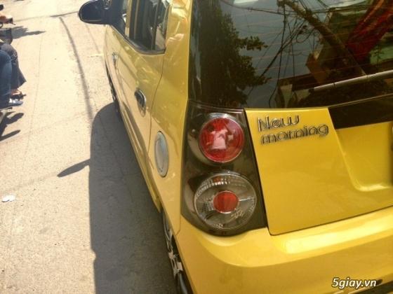 cần bán gấp xe kia morning 2011 màu vàng.xe đẹp như mới - 13