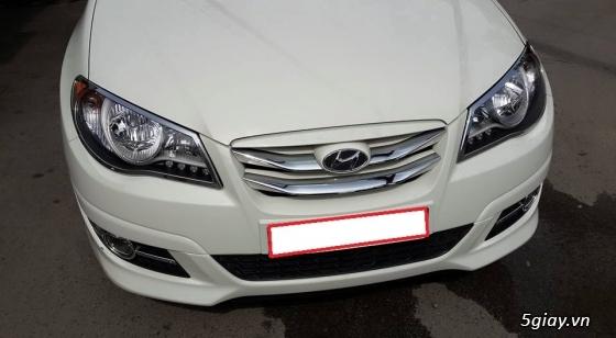 cần bán gấp xe avante màu trắng sữa,sxn 2012 - 8