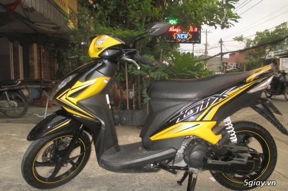 Xe yamaha luvias gtx fi màu vàng đen,hình chụp thật 100% - 3