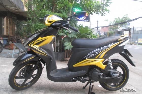Xe yamaha luvias gtx fi màu vàng đen,hình chụp thật 100% - 1