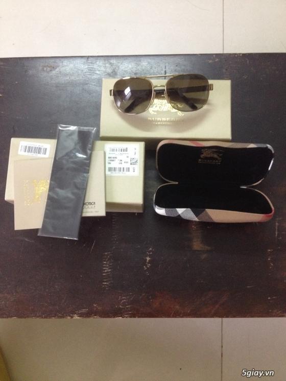 Đồng hồ nike sport, mắt kính burberry, ví móc khóa burberry chính hãng xách tay aus, giá quá tốt ạ! - 2