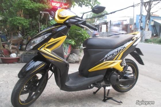 Xe yamaha luvias gtx fi màu vàng đen,hình chụp thật 100% - 2