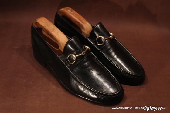 Giày loafer hàng hiệu chính hãng : bally , zara , cole haan , guuuu , prada , D&G ... - 4
