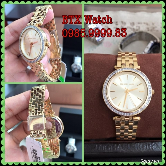 [btx watch] mắt kính, đồng hồ authentic 100% : rayban, movado, burberry, guuuu, tissot, m.kors... - 24