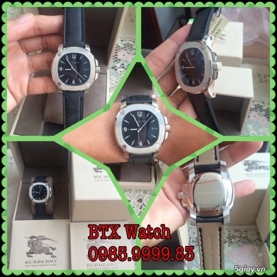 [btx watch] mắt kính, đồng hồ authentic 100% : rayban, movado, burberry, guuuu, tissot, m.kors... - 4
