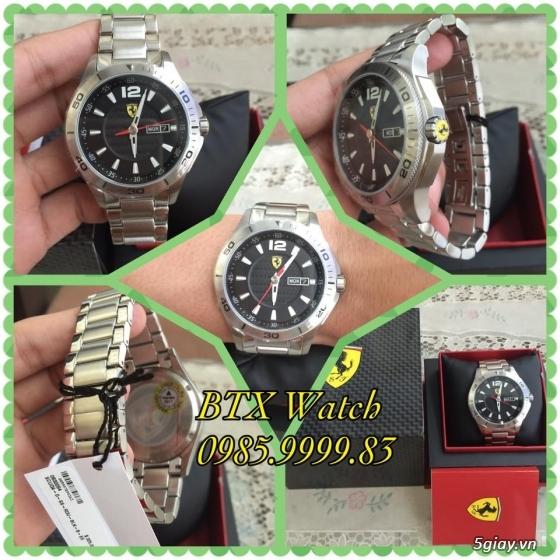 [btx watch] mắt kính, đồng hồ authentic 100% : rayban, movado, burberry, guuuu, tissot, m.kors... - 33