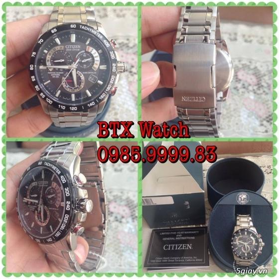 [btx watch] mắt kính, đồng hồ authentic 100% : rayban, movado, burberry, guuuu, tissot, m.kors... - 21