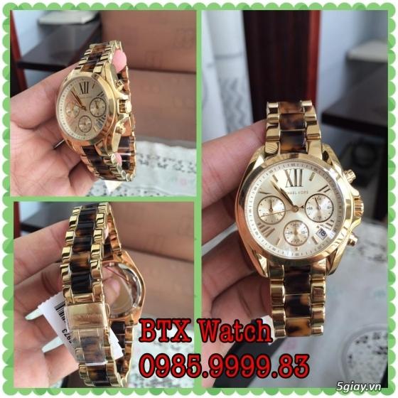 [btx watch] mắt kính, đồng hồ authentic 100% : rayban, movado, burberry, guuuu, tissot, m.kors... - 10