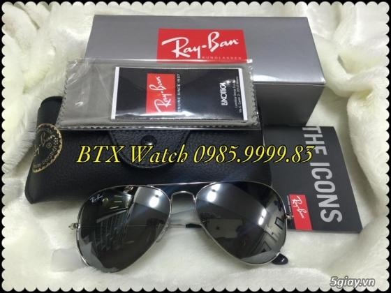 [btx watch] mắt kính, đồng hồ authentic 100% : rayban, movado, burberry, guuuu, tissot, m.kors... - 13