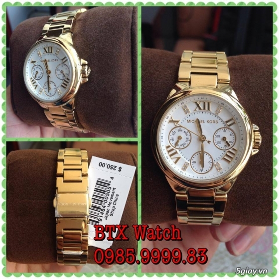 [btx watch] mắt kính, đồng hồ authentic 100% : rayban, movado, burberry, guuuu, tissot, m.kors... - 29