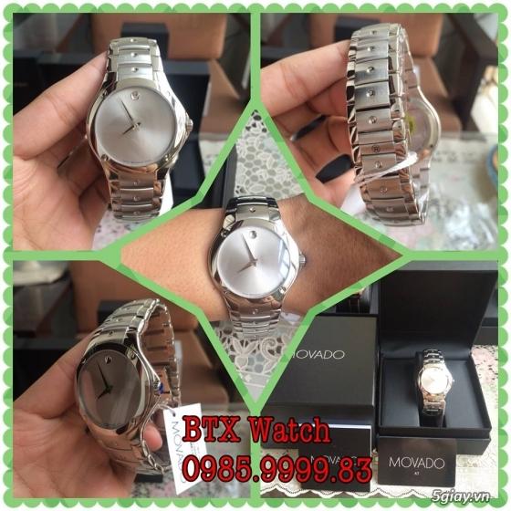 [btx watch] mắt kính, đồng hồ authentic 100% : rayban, movado, burberry, guuuu, tissot, m.kors... - 2